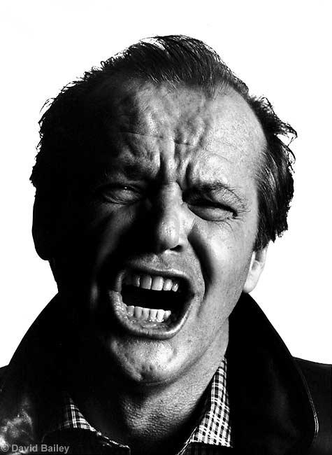 David Bailey Jack Nicholson