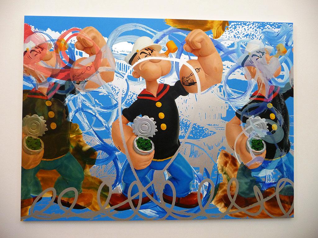 Jeff Koons – Popeye Train (Birds) | Dear Damn Diary ...